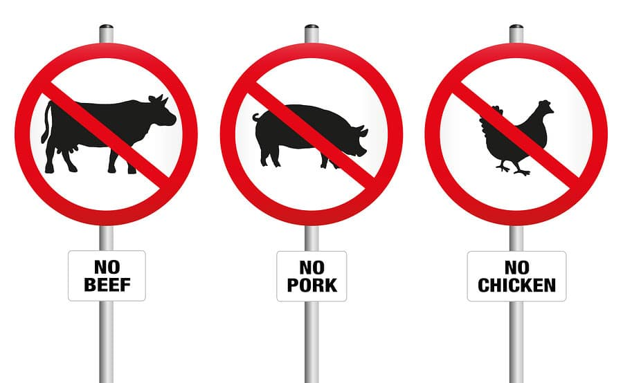 Meatless Prohibition. Photo: Bigstock
